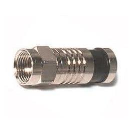 F connector compressie