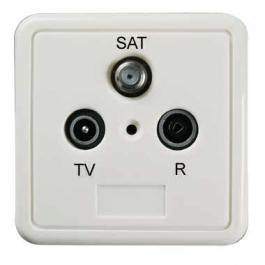 Wandcontactdoos R / TV / Sat