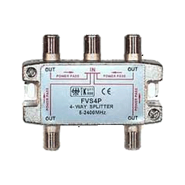 Signal Splitter 1 In / 4 Out